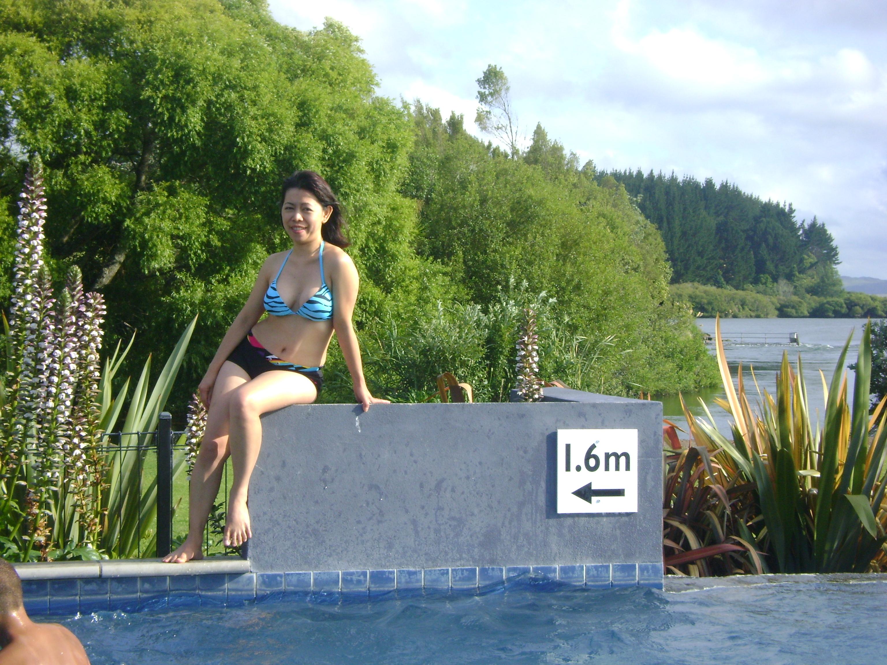 Wyndham Rotorua pool