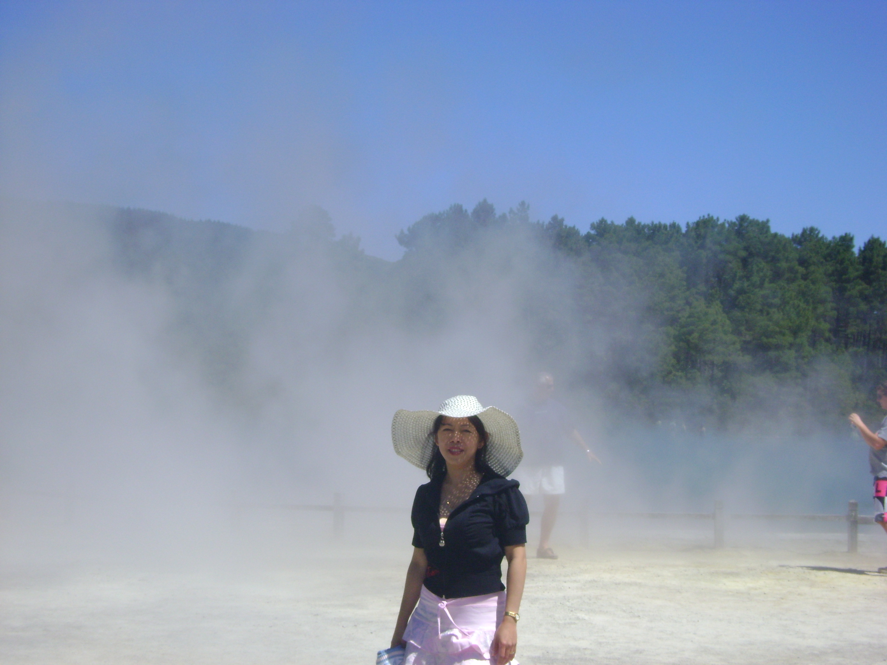 waiotapu geothermal steam