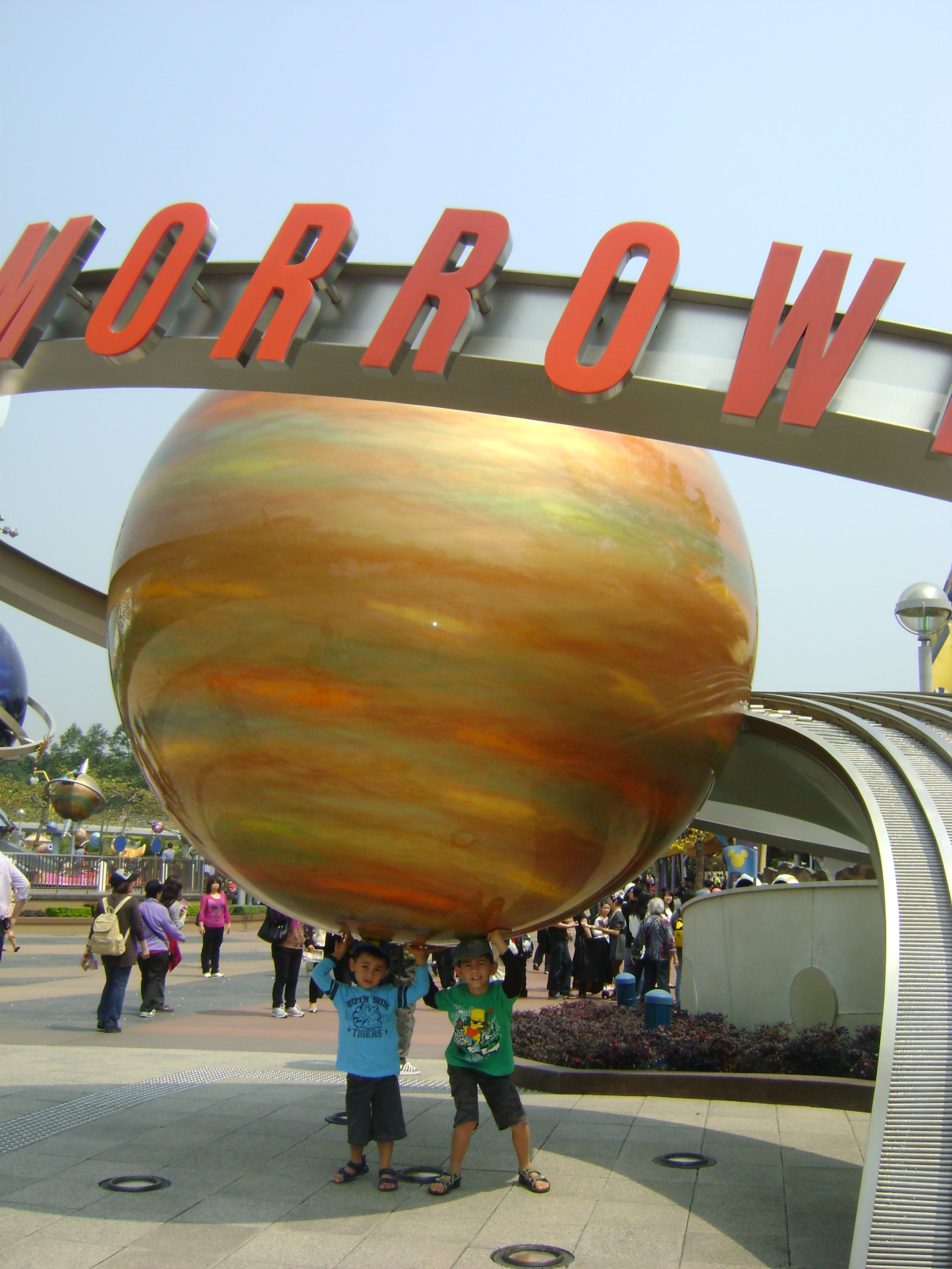 Tomorrowland in Disneyland