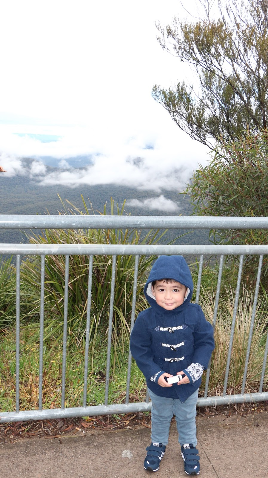 What a toddler would wear in the Blue Mountains