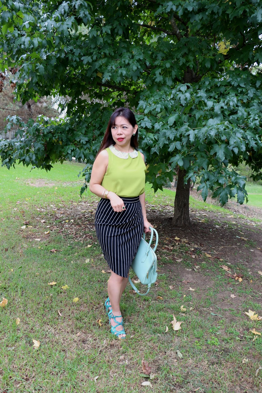 the green outfit trend