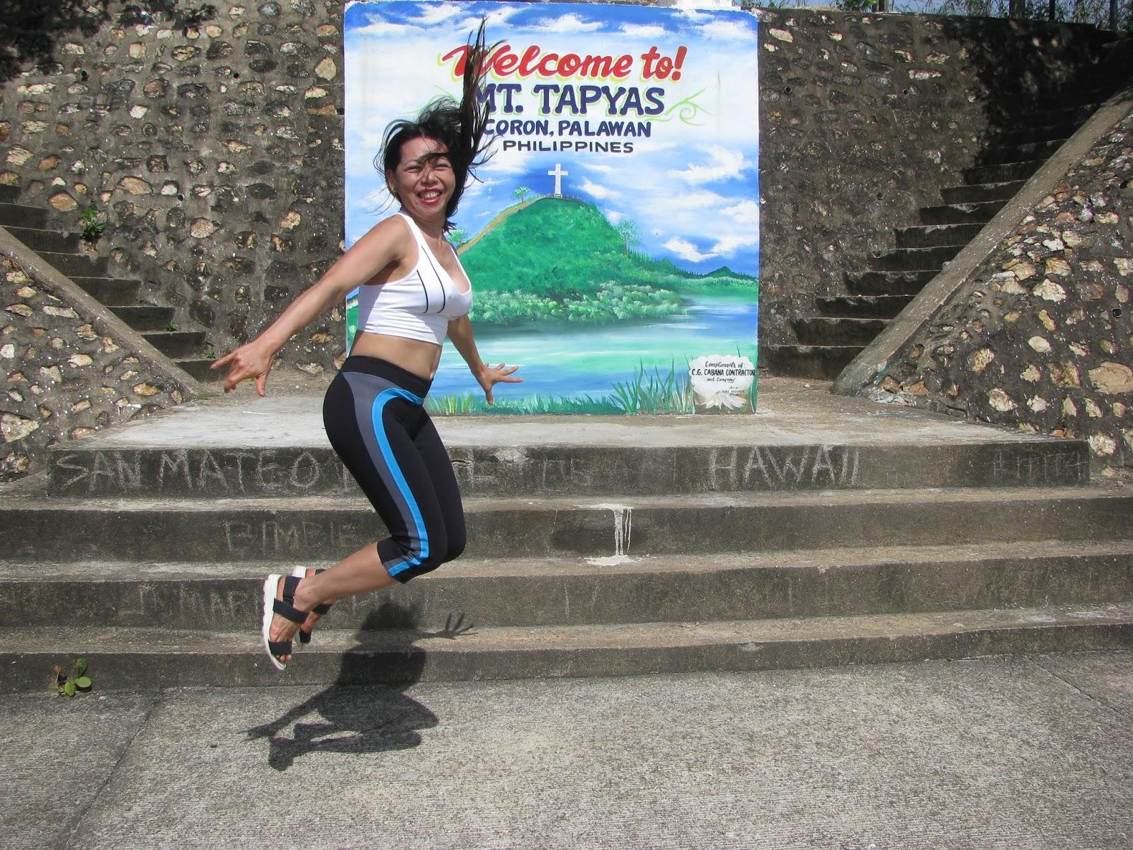 Mt. Tapyas jump