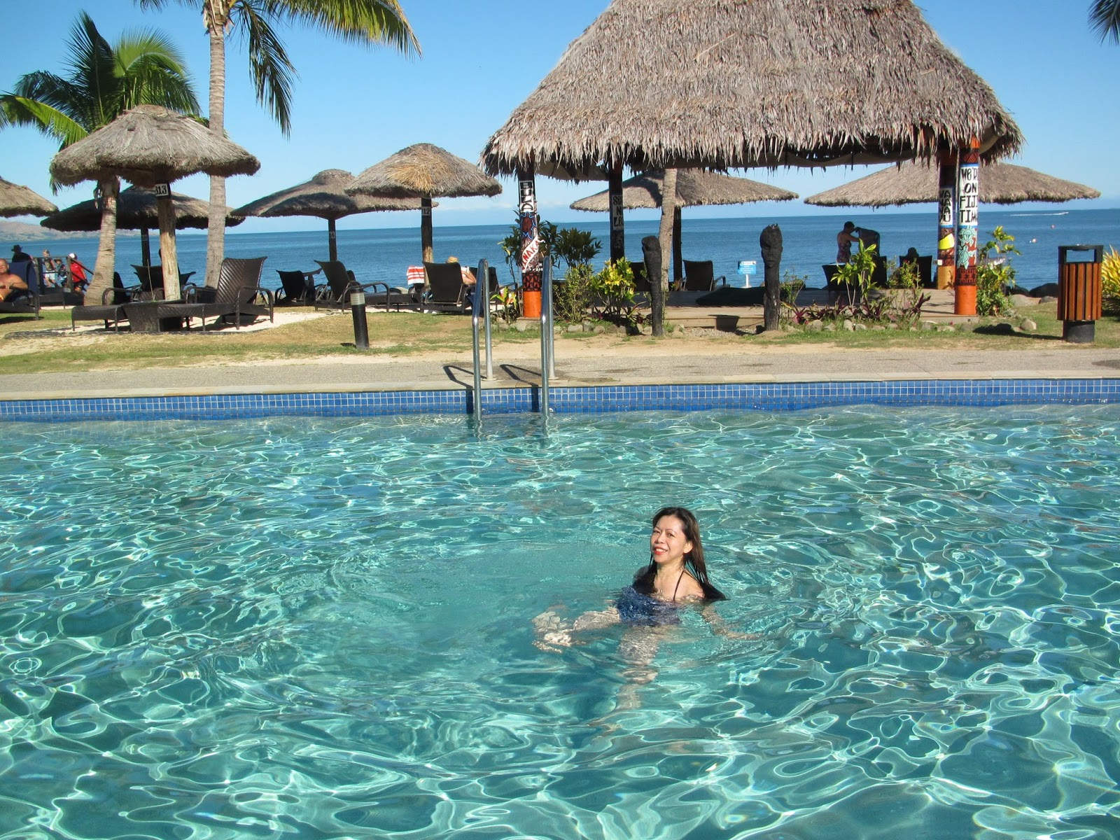 Wyndham Fiji pool