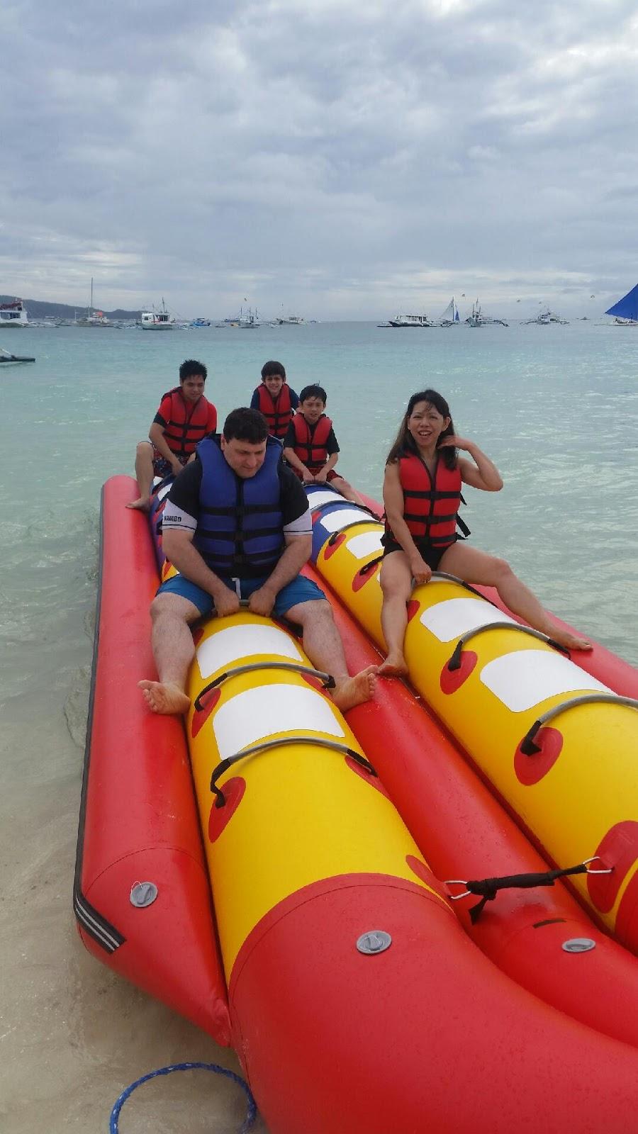 Banana Boat in Boracay