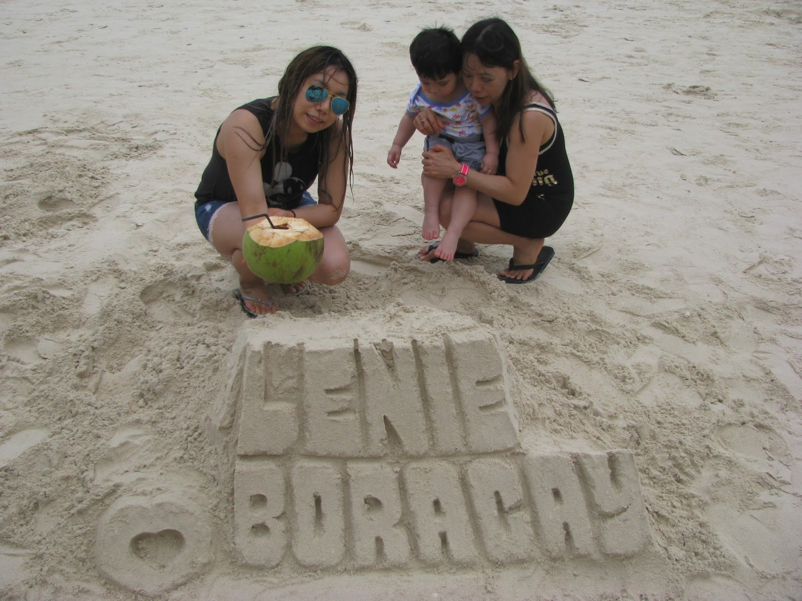 Boracay sandcastle