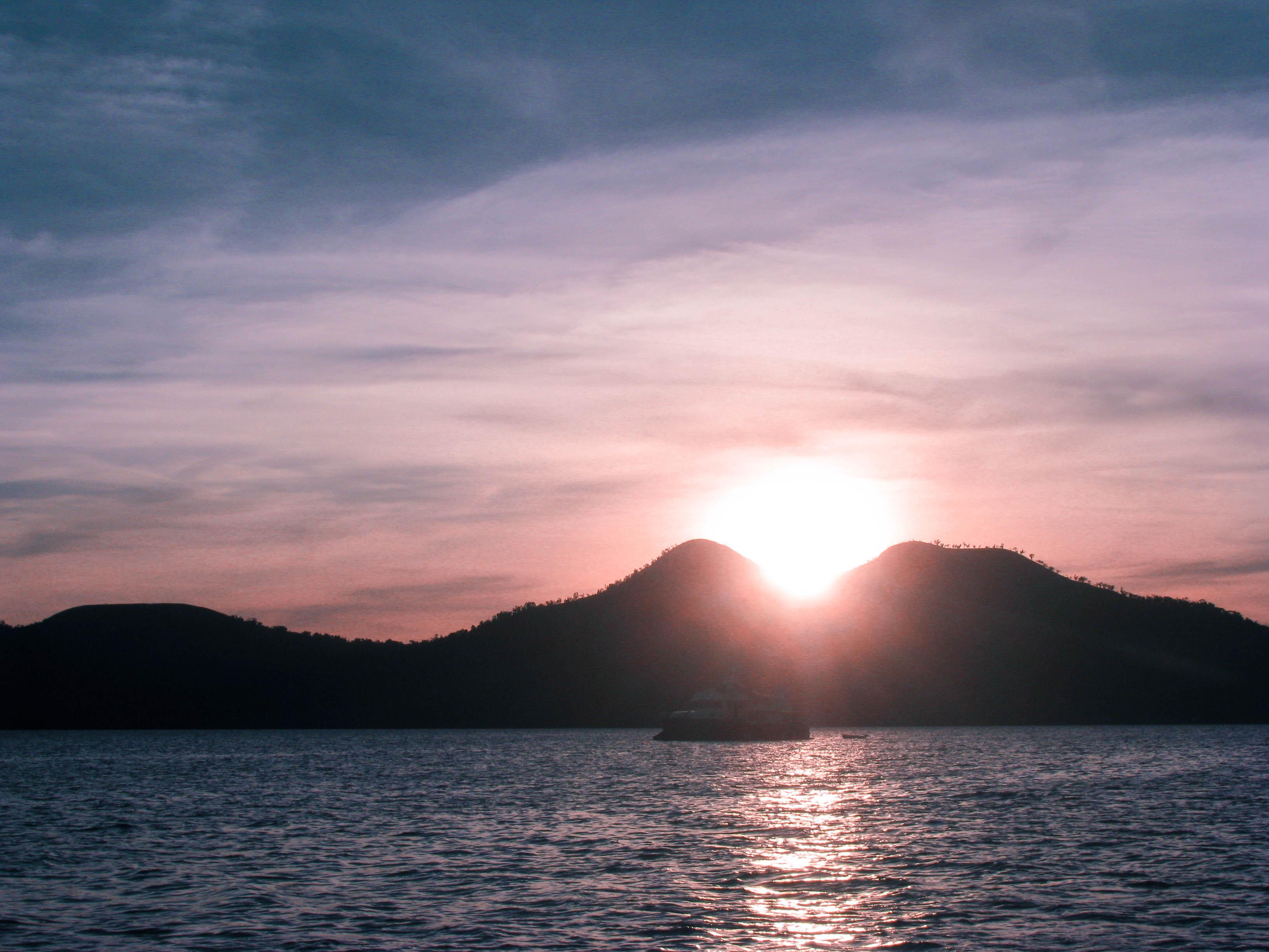 Coron sunset
