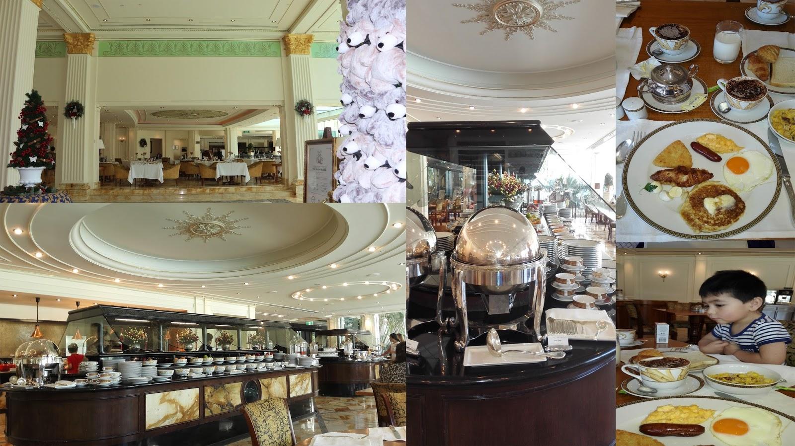 Palazzo Versace breakfast