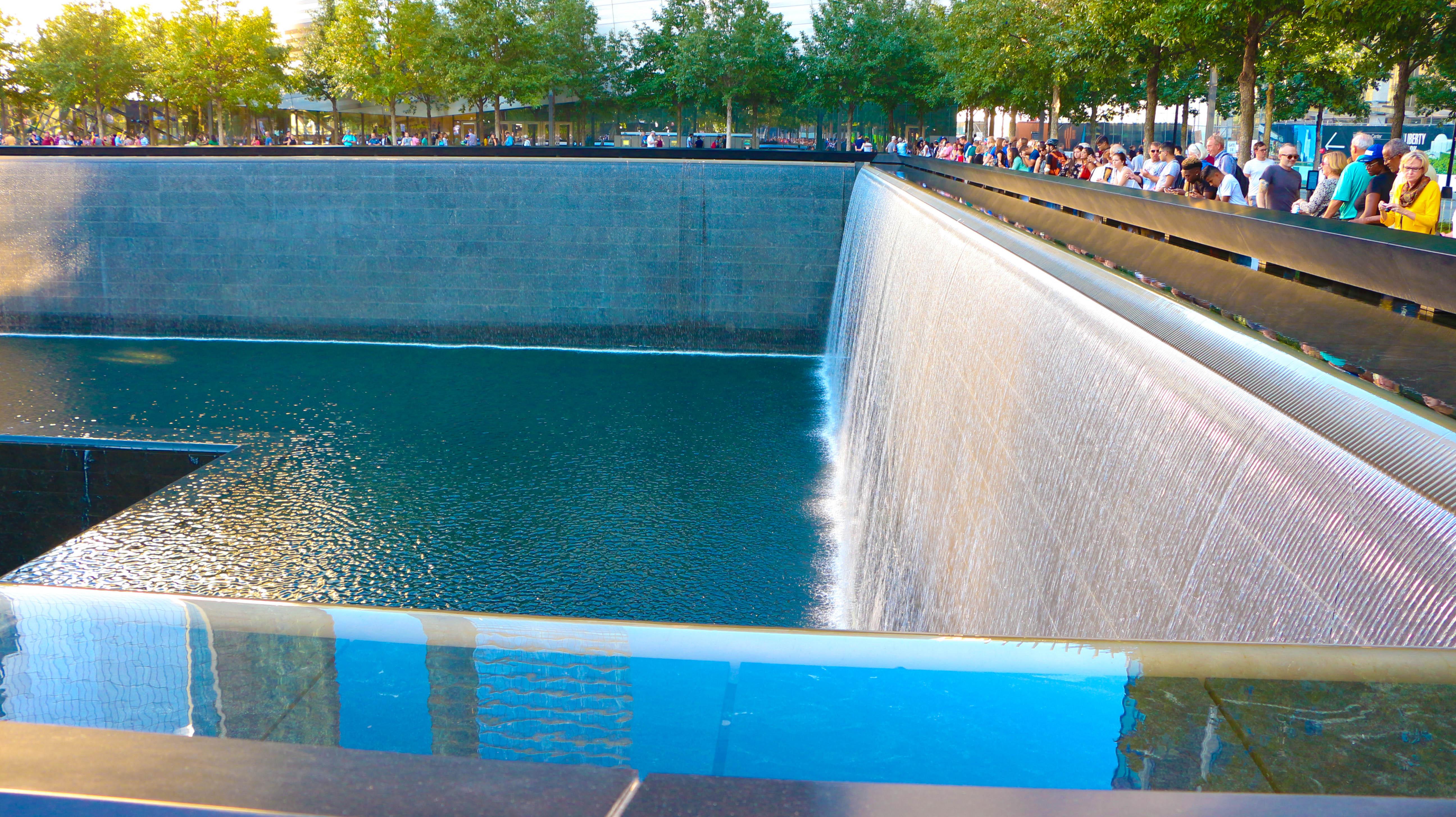 9/11 fountain