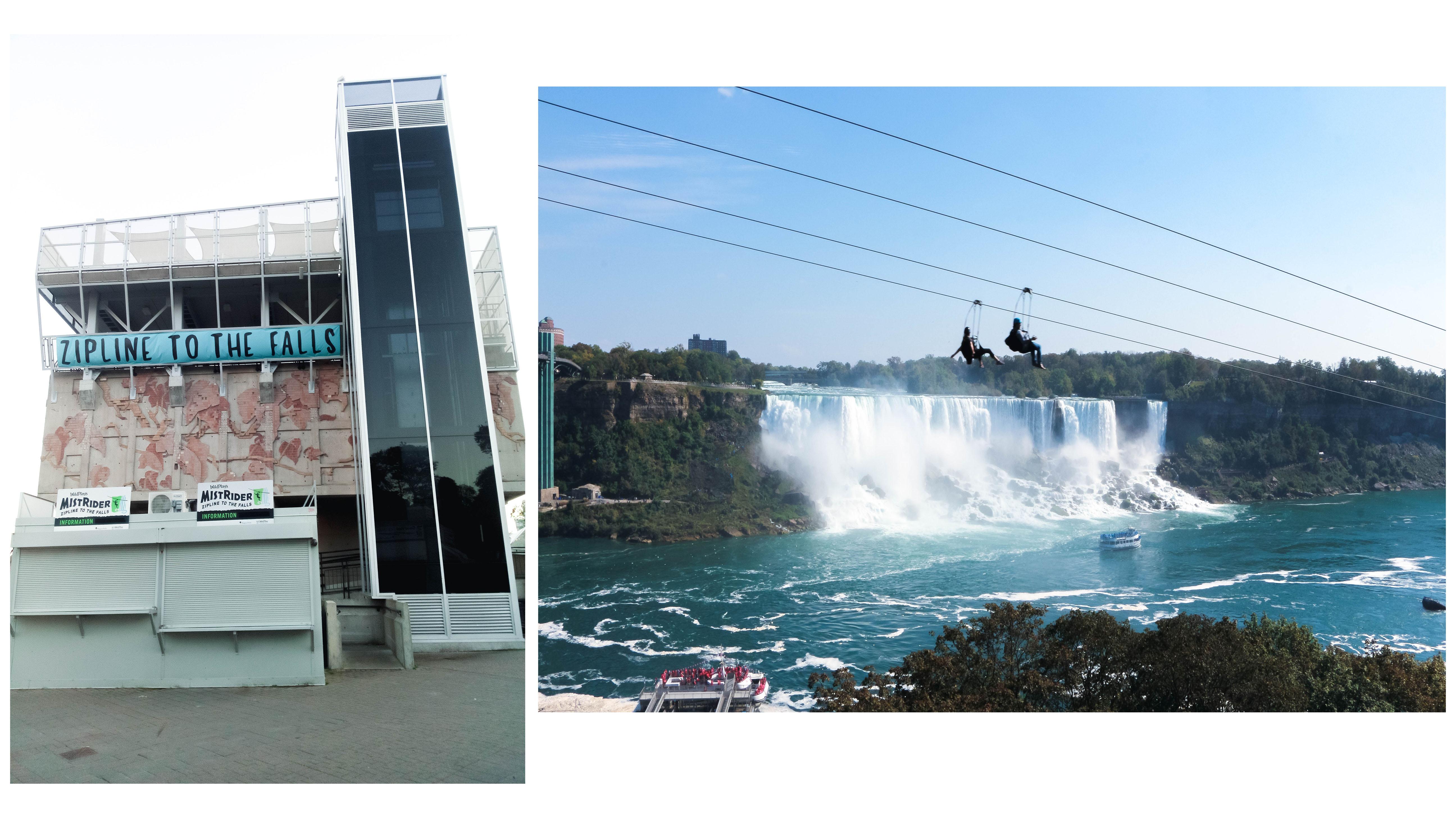 Niagara Falls mistrider zipline