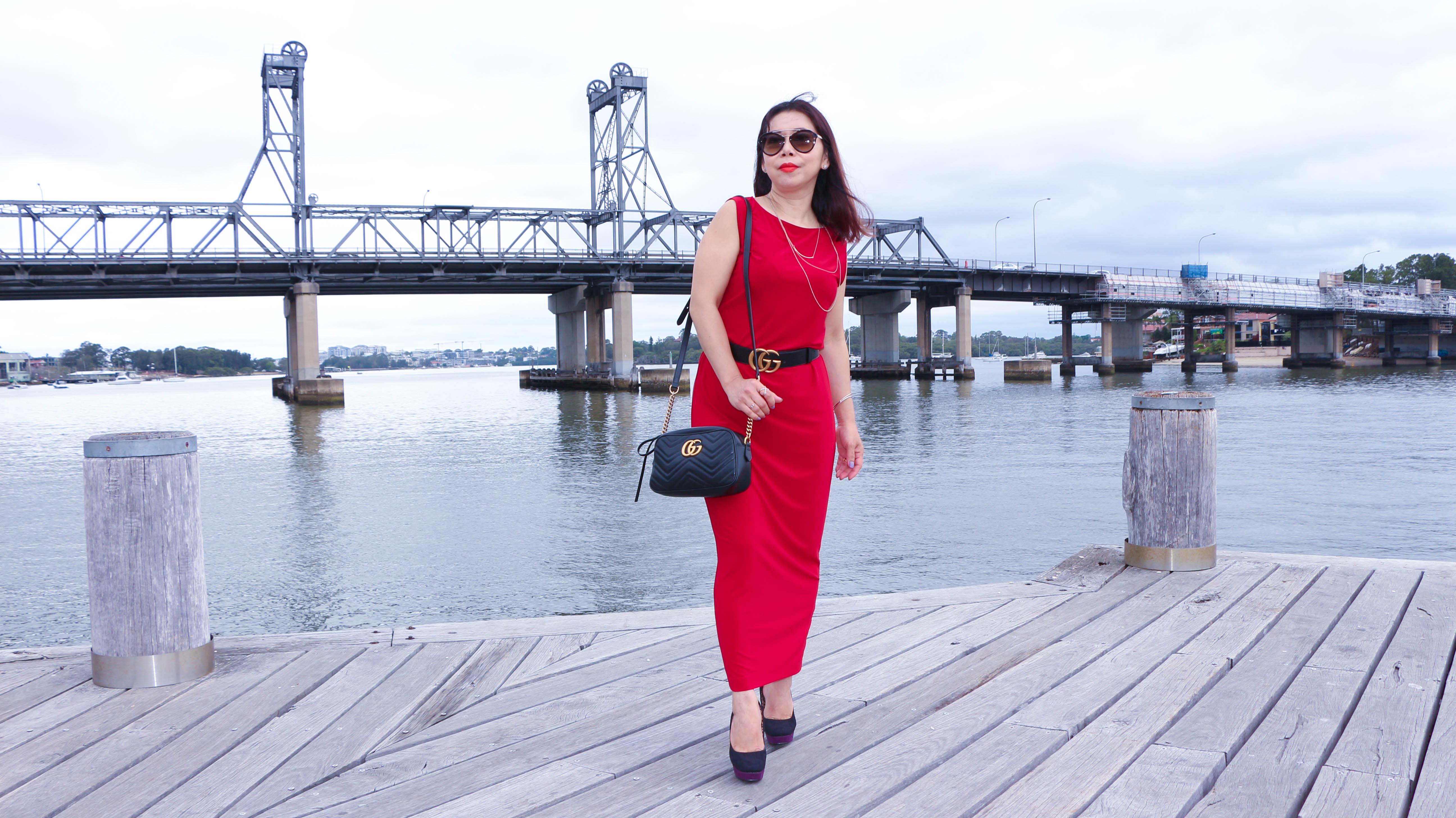 Rosarini Red dress