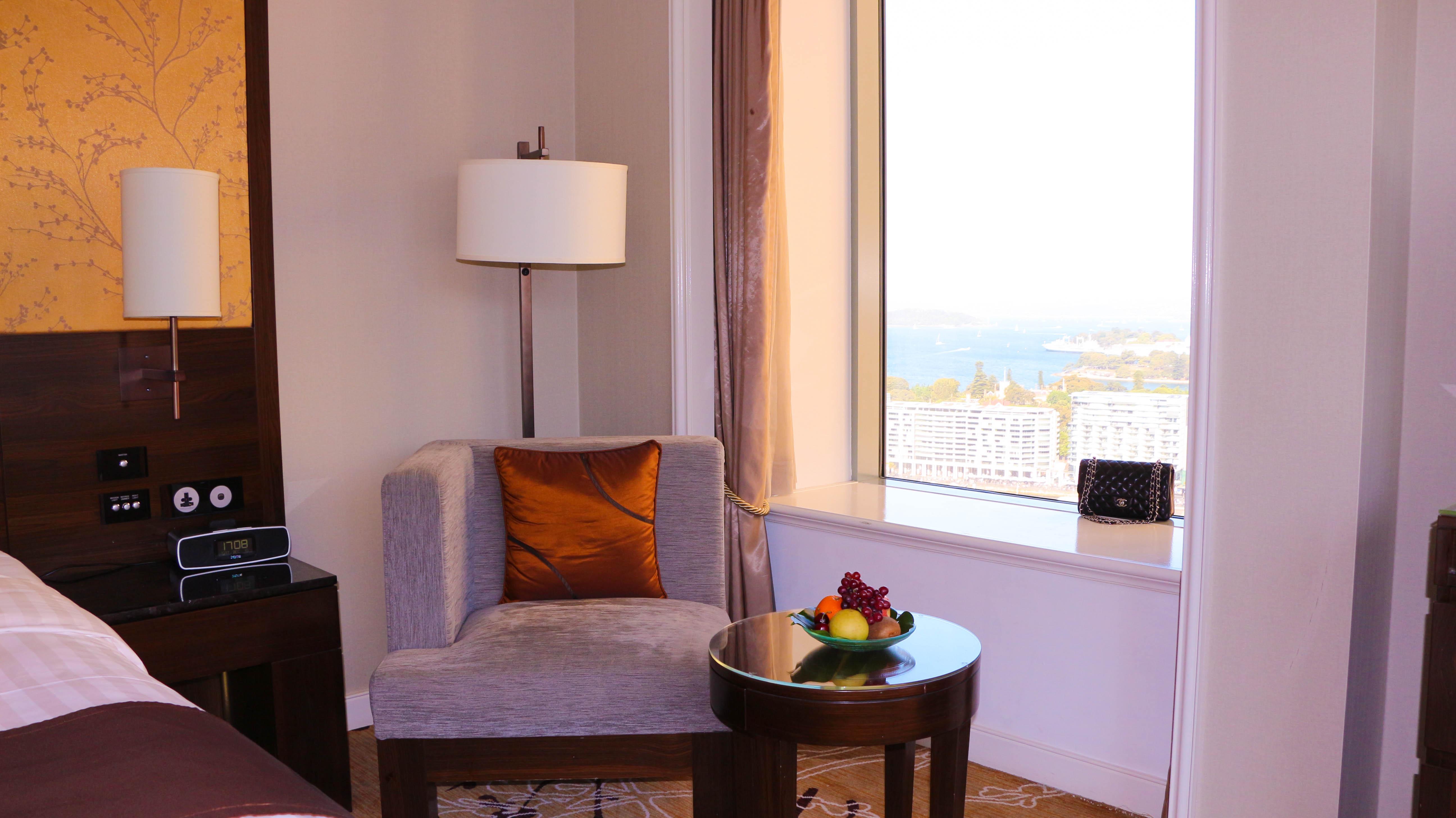 Shangri-la Hotel Sydney water view