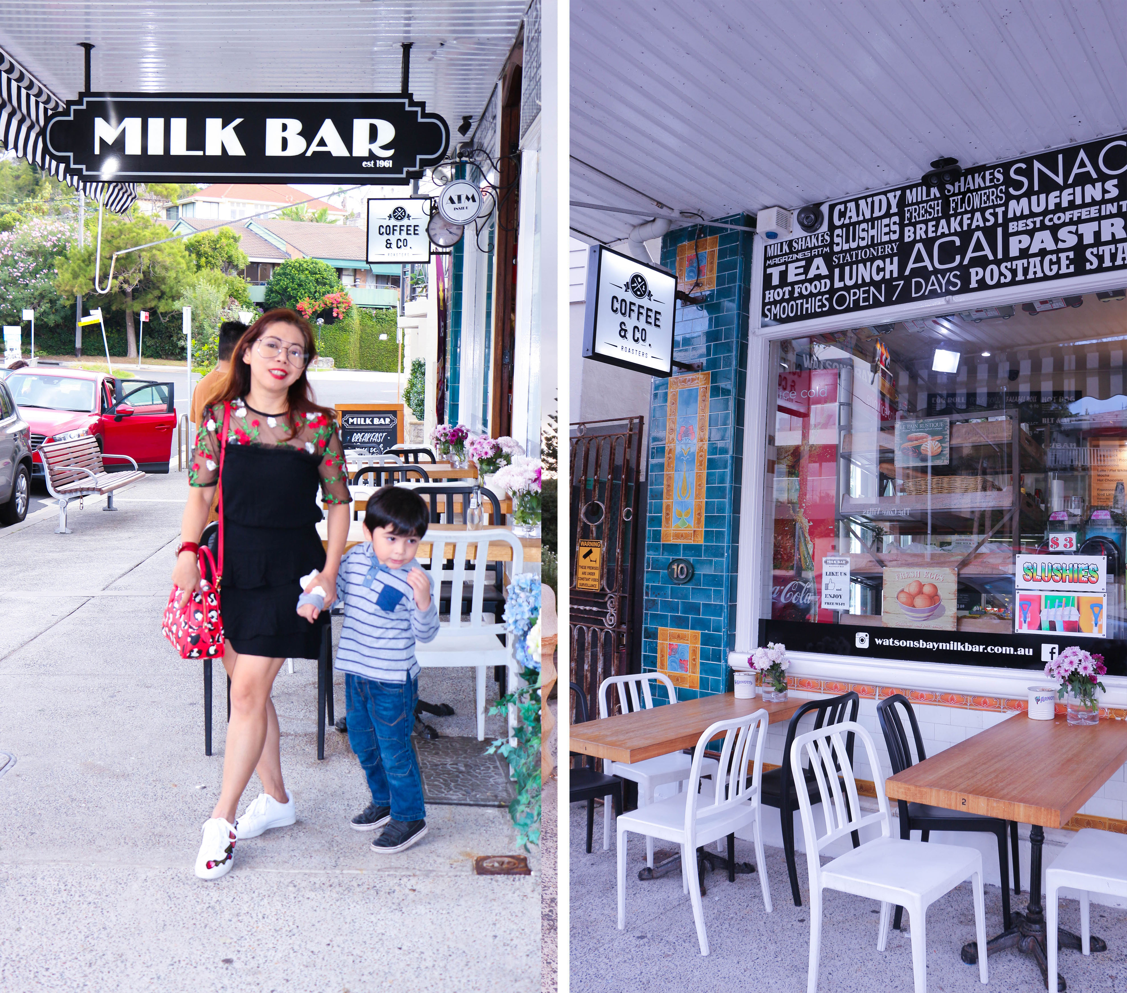 Milk bar Watsons Bay