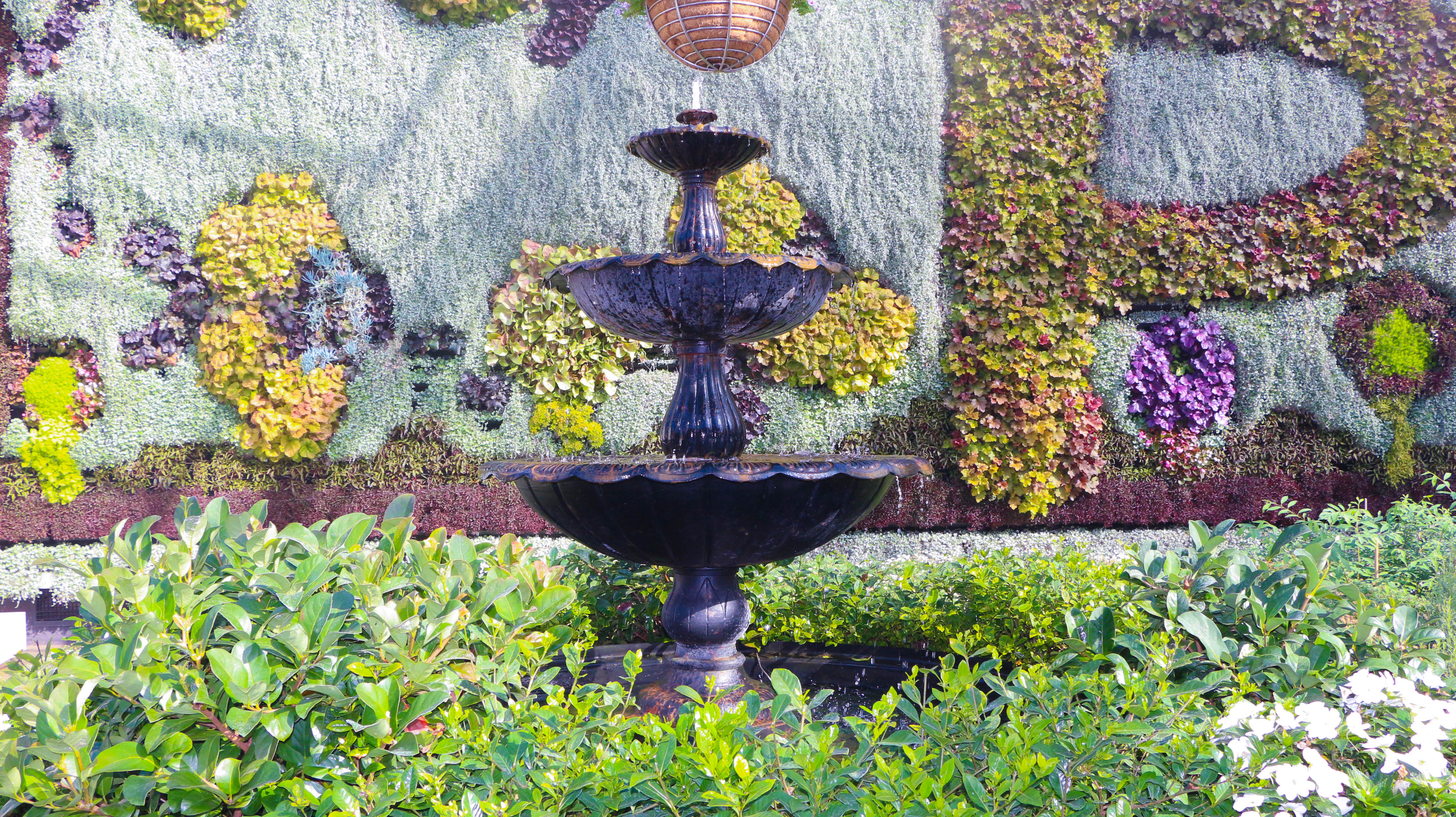 Fountain in the Pollination at the Calyx