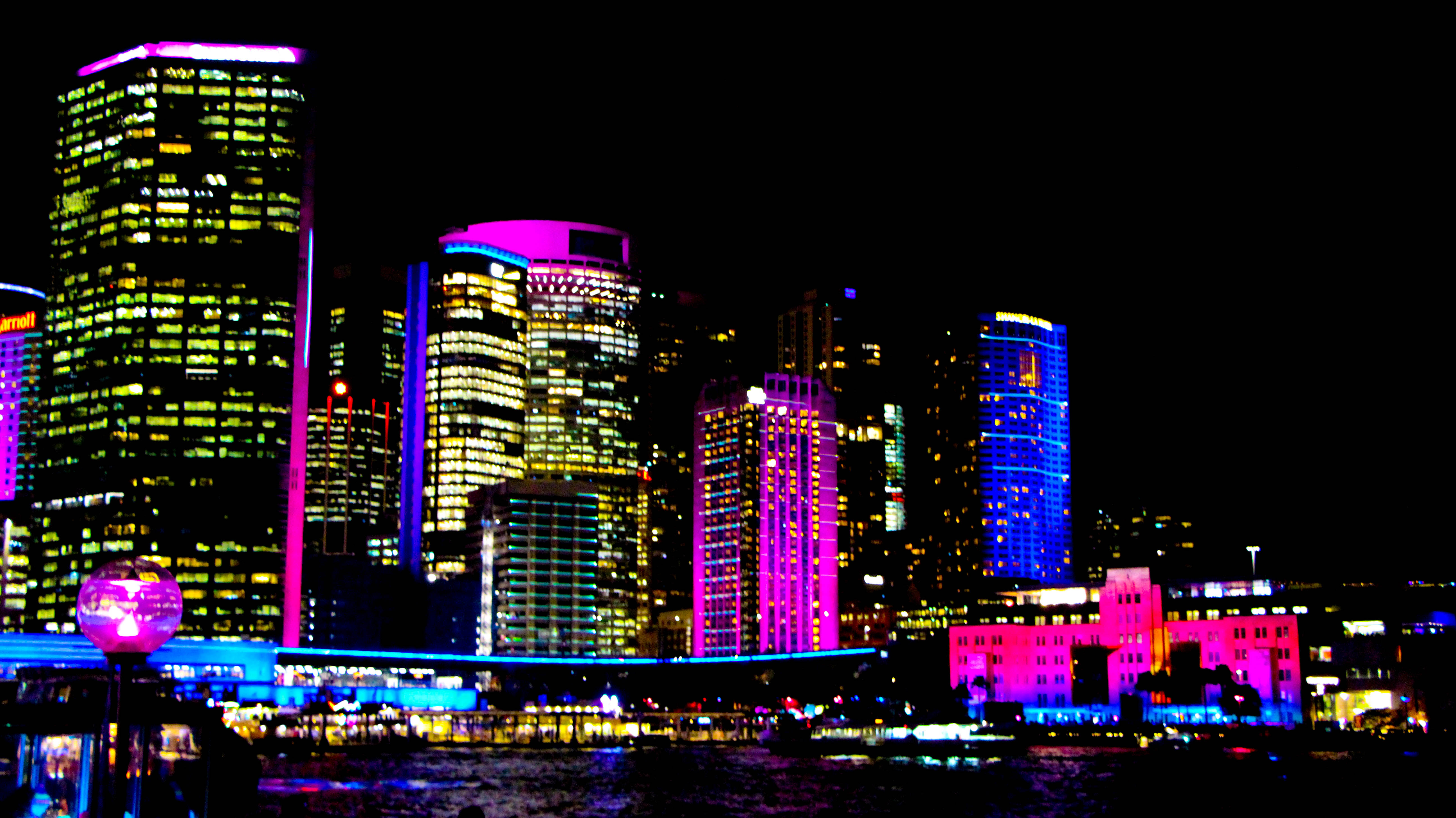 Sydney city Vivid 2018