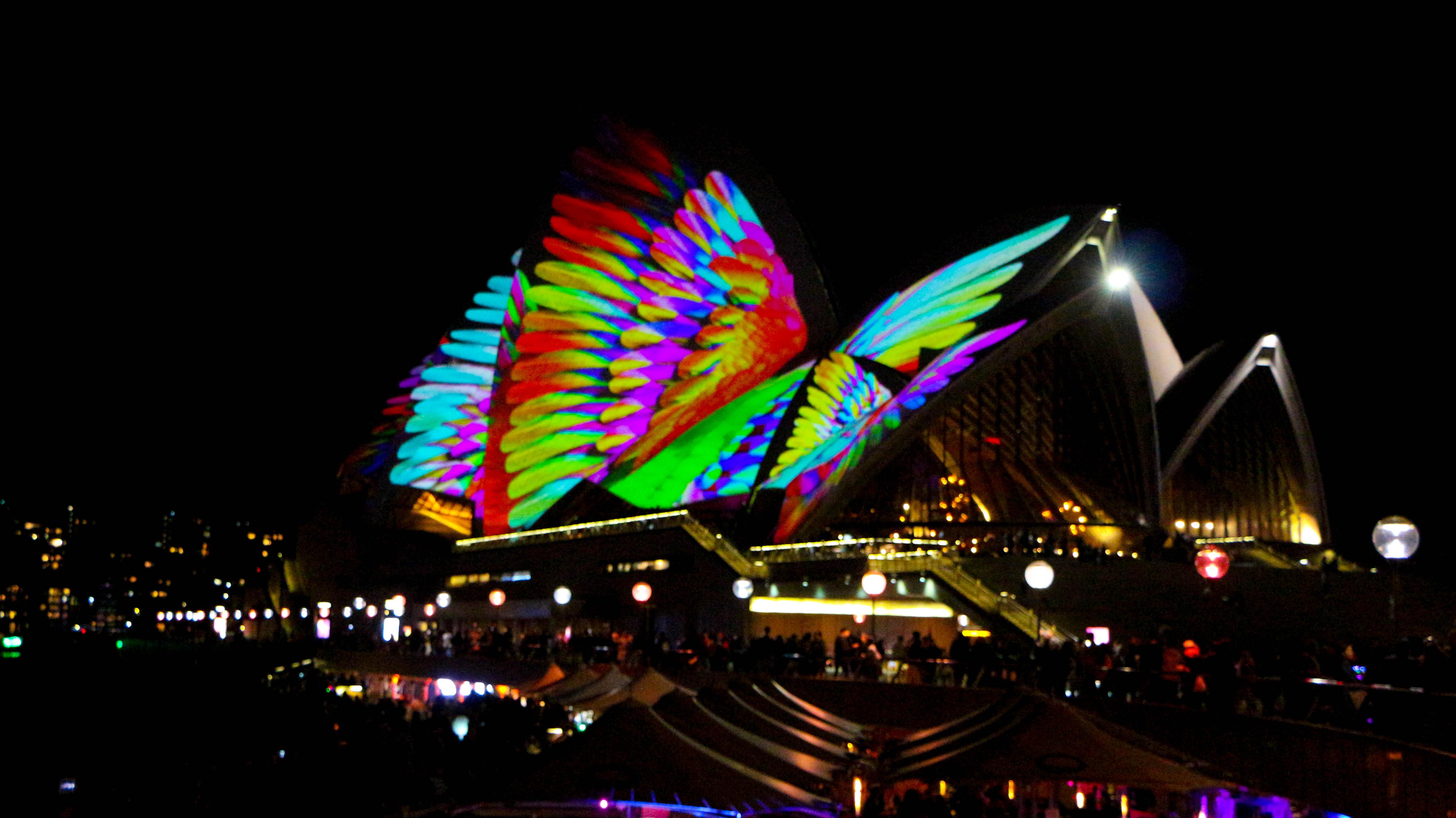 Sydney Opera House Vivid 2018
