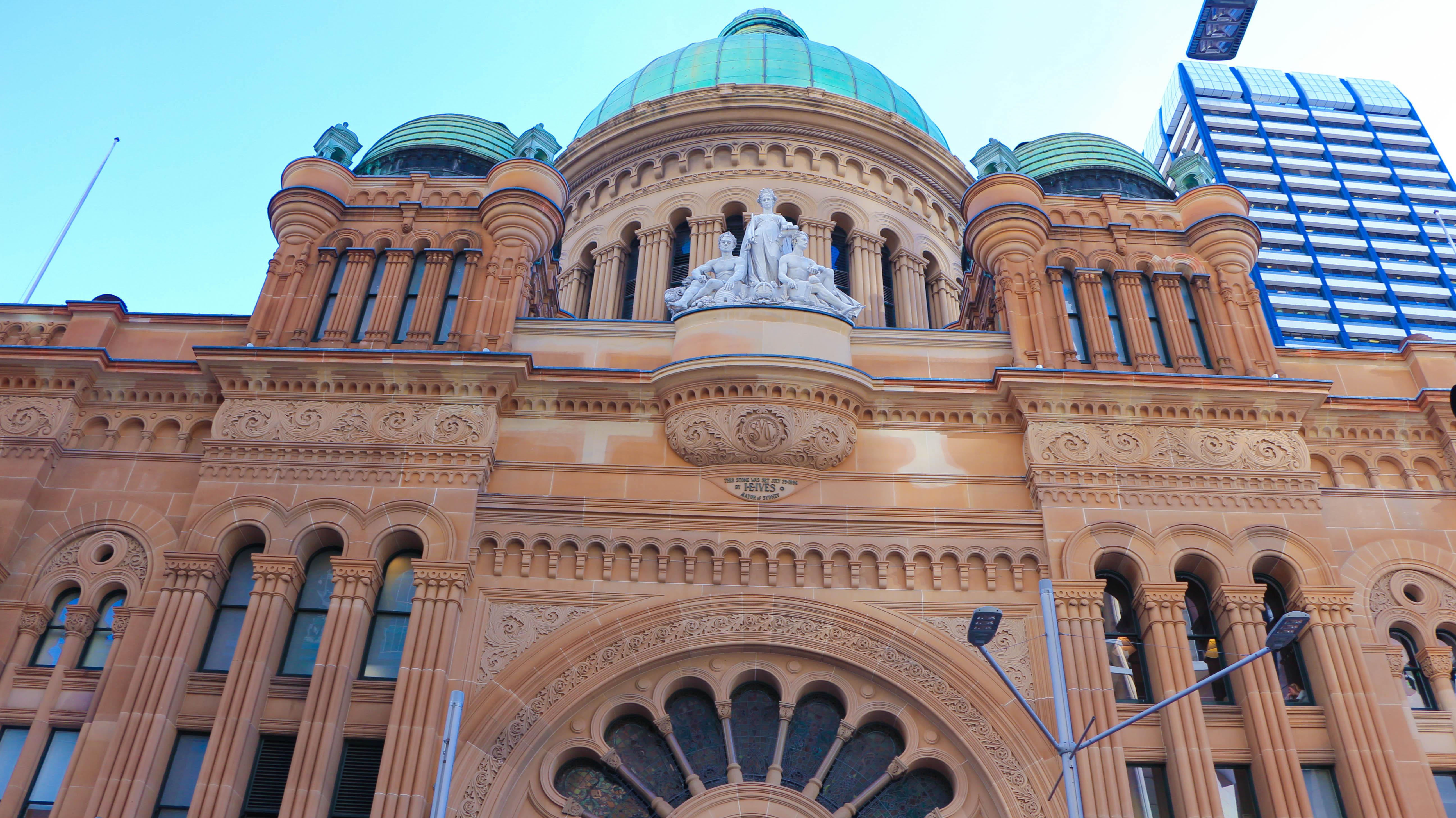 QVB Sydney Architecture