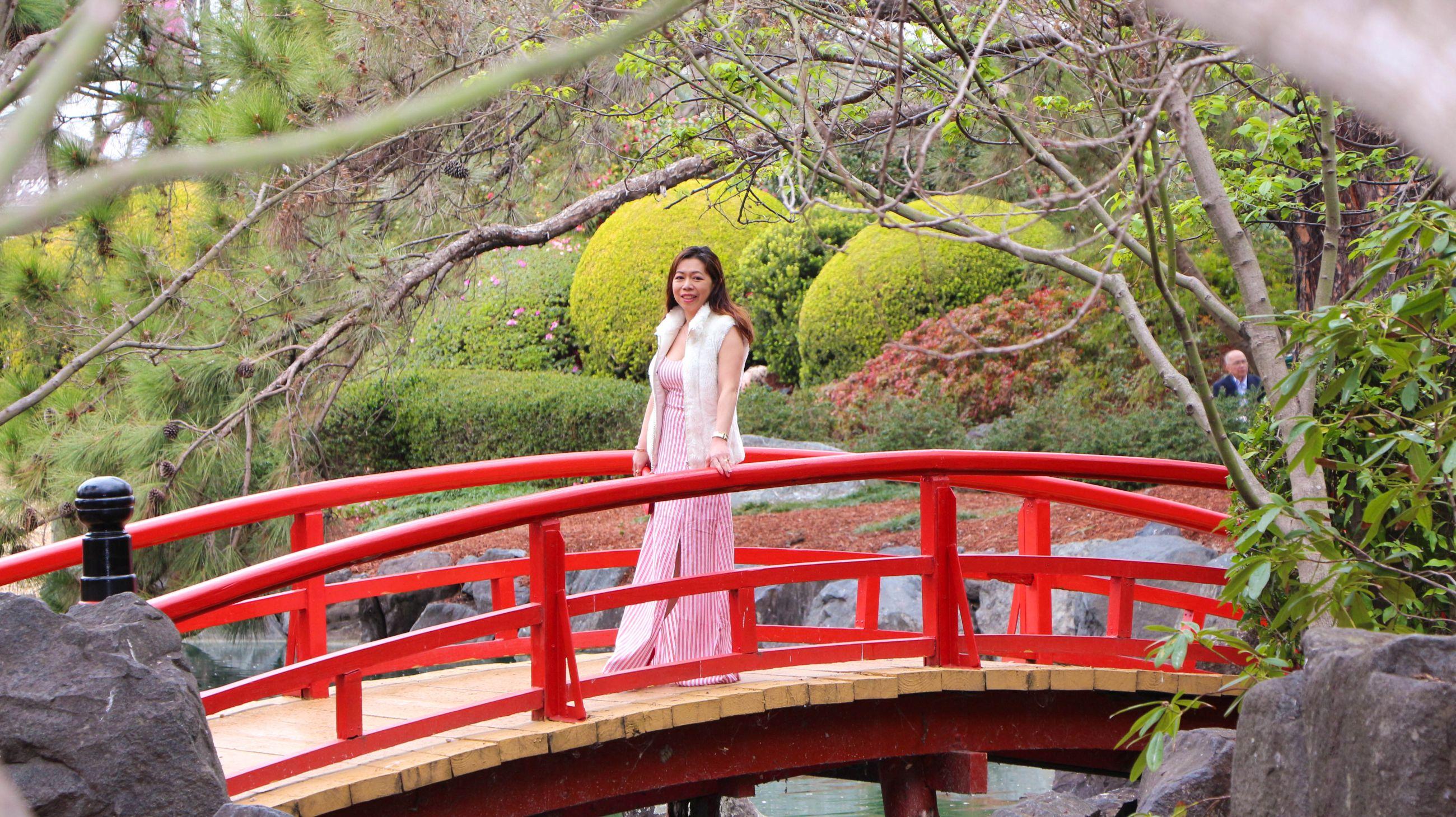 Japanese Garden red bridge