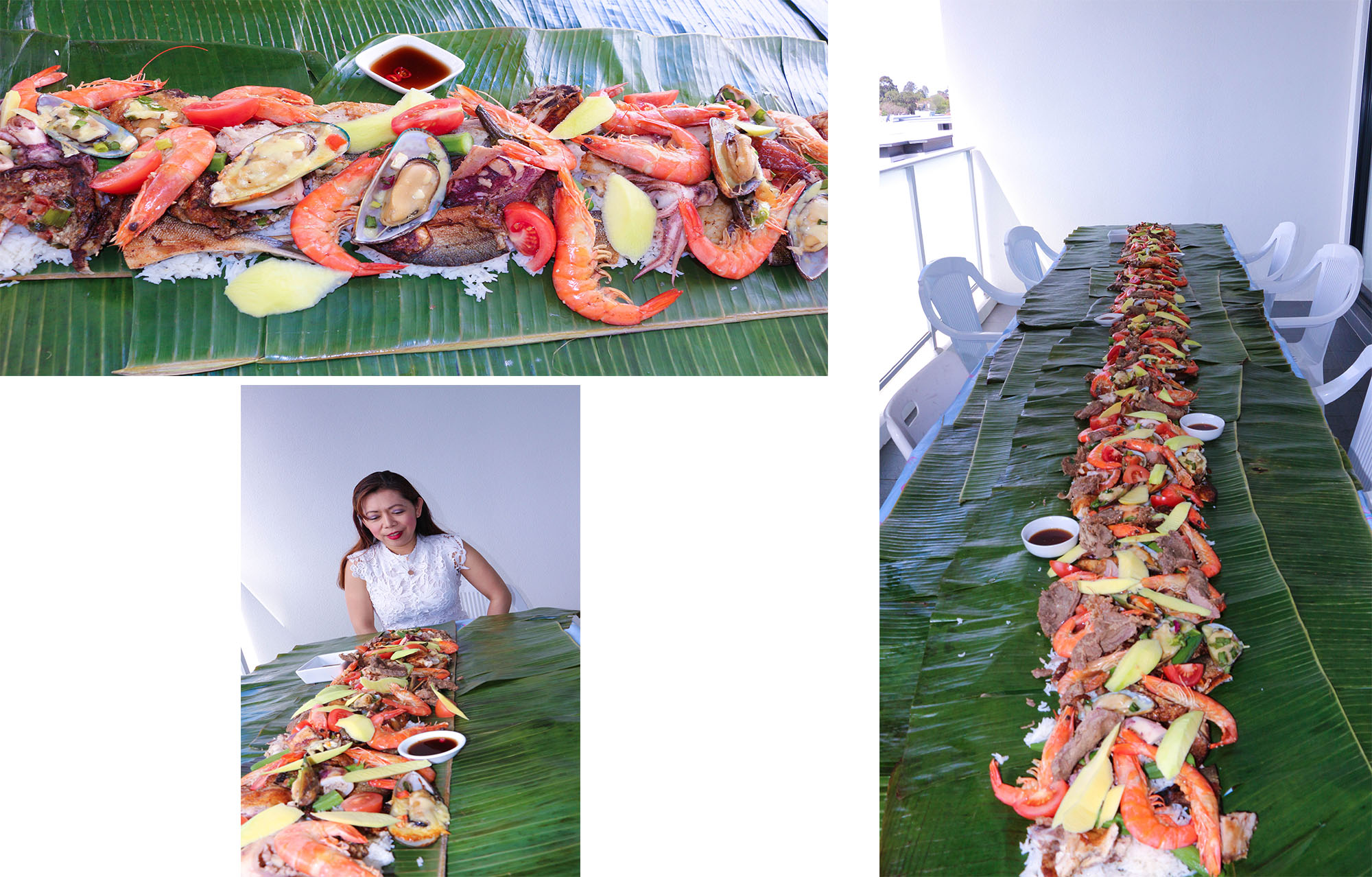Boodle fight party