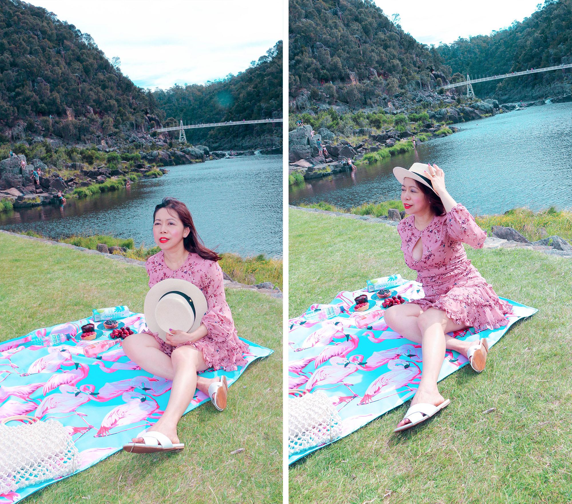 Cataract Gorge picnic