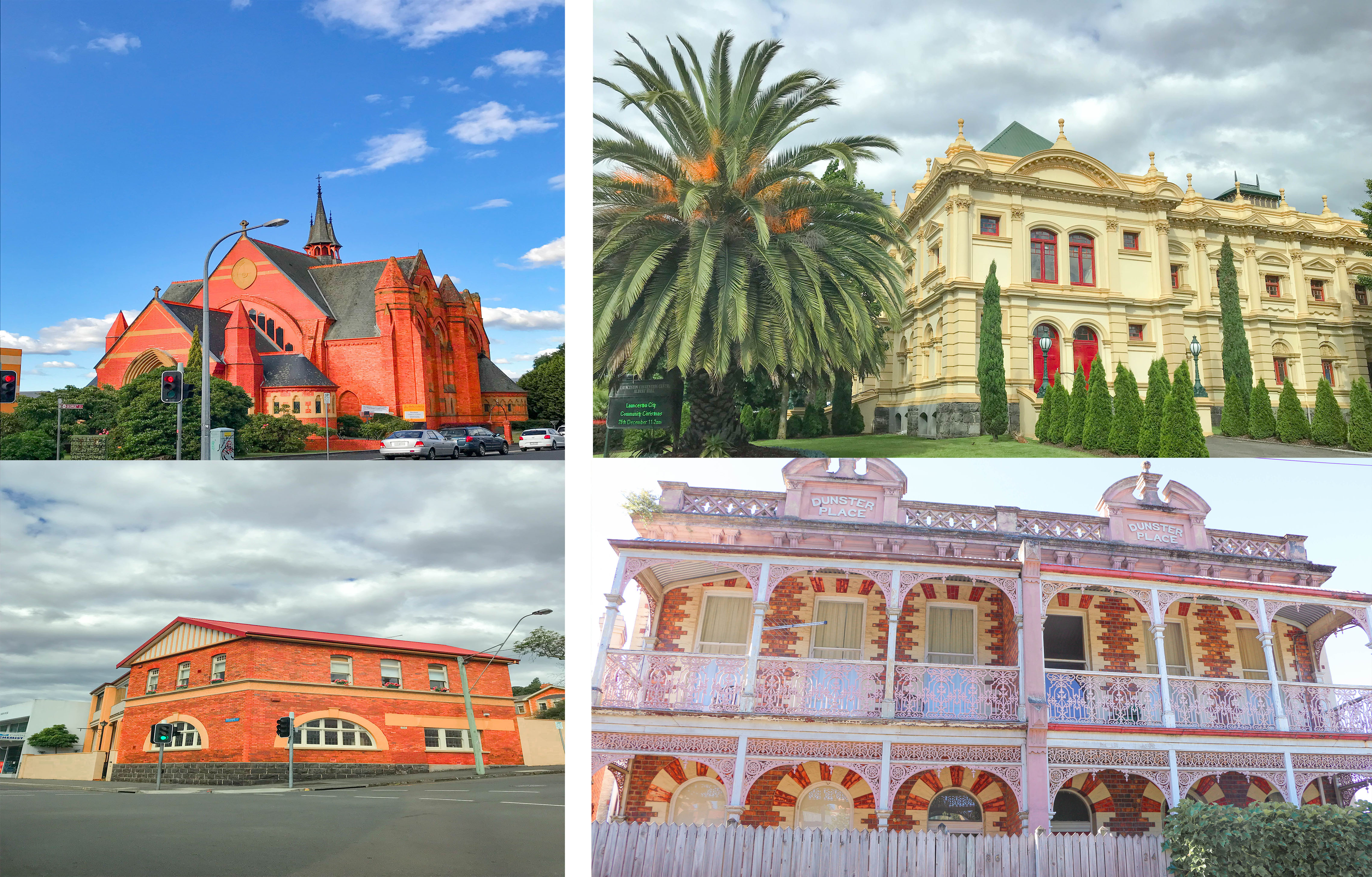Historic buildings and churches in Tasmania