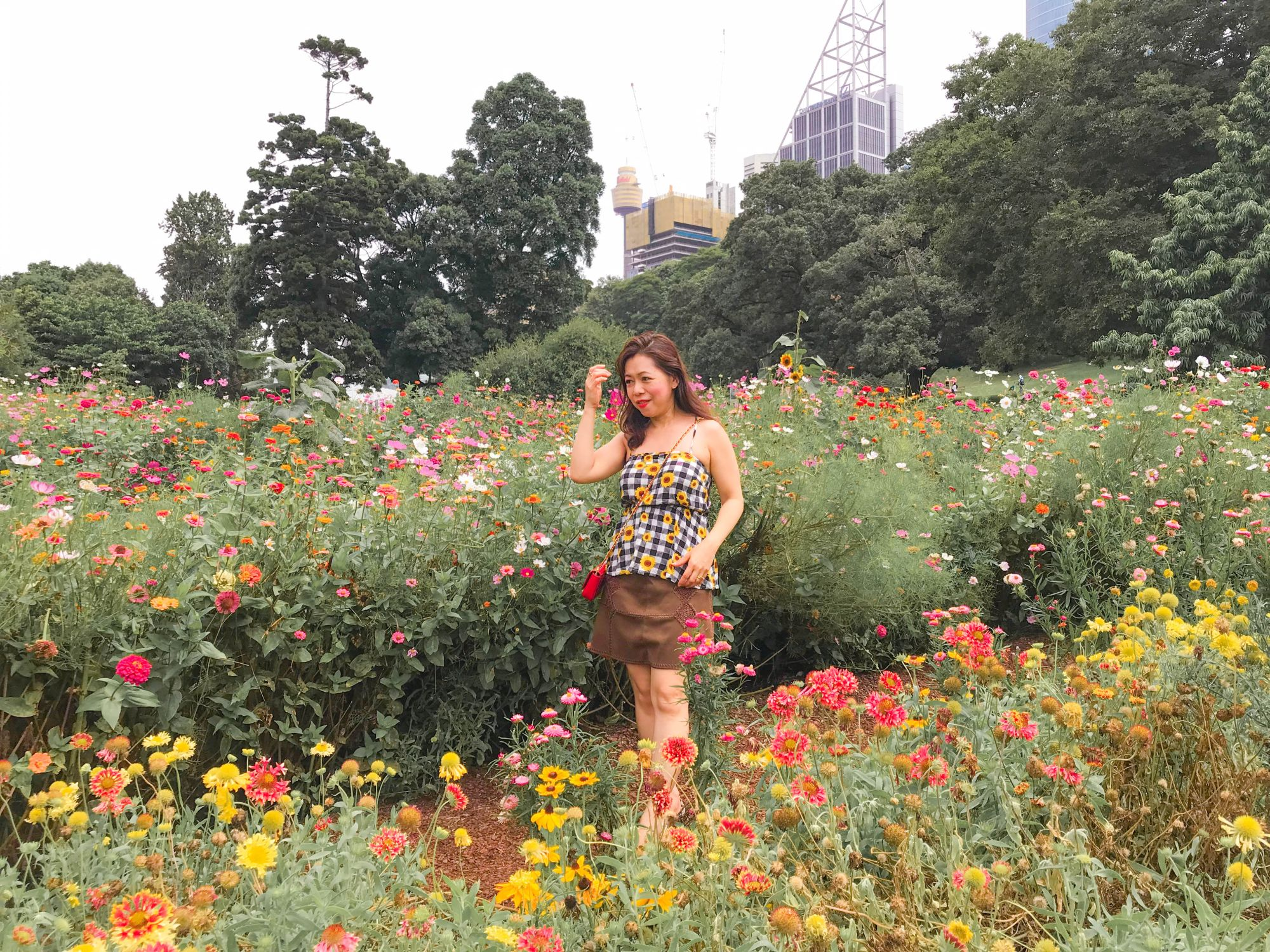 Where to find flowers in the city