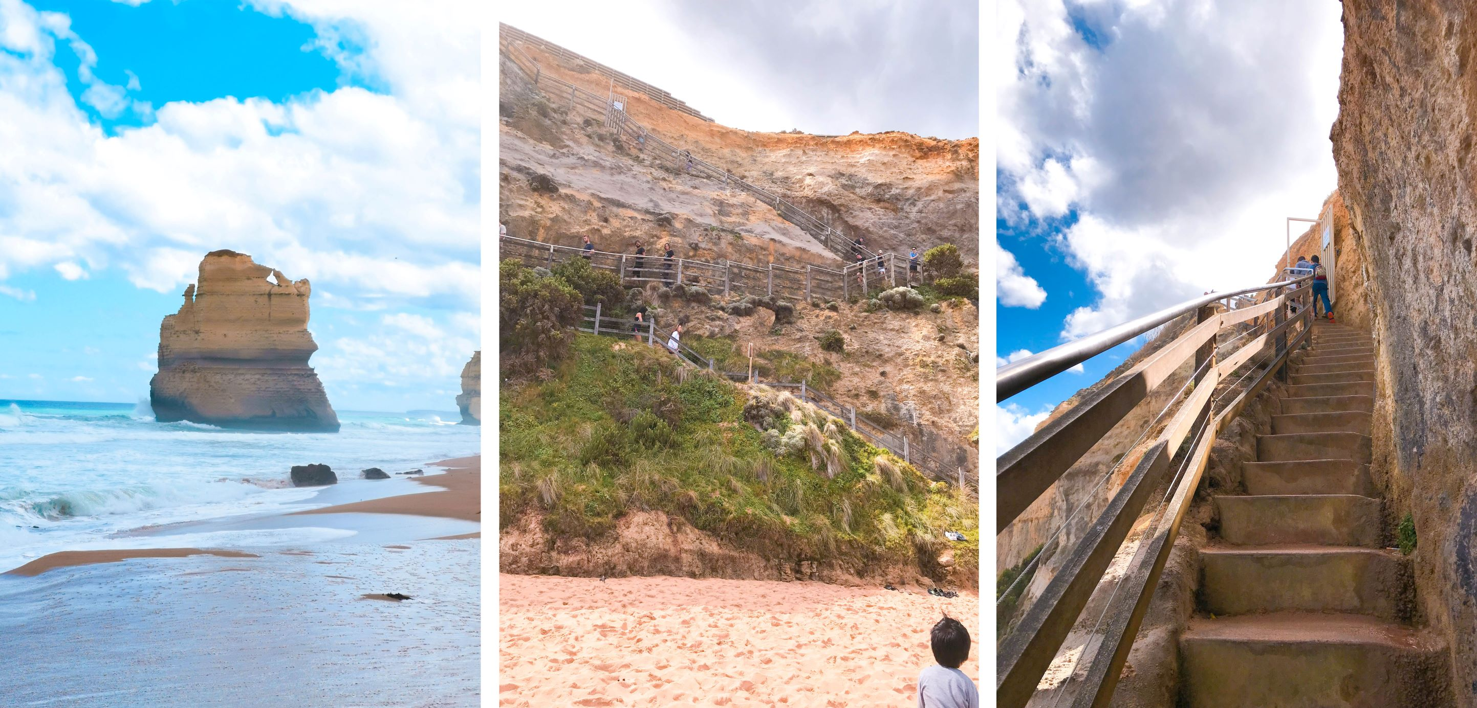 The attractions of the great ocean road