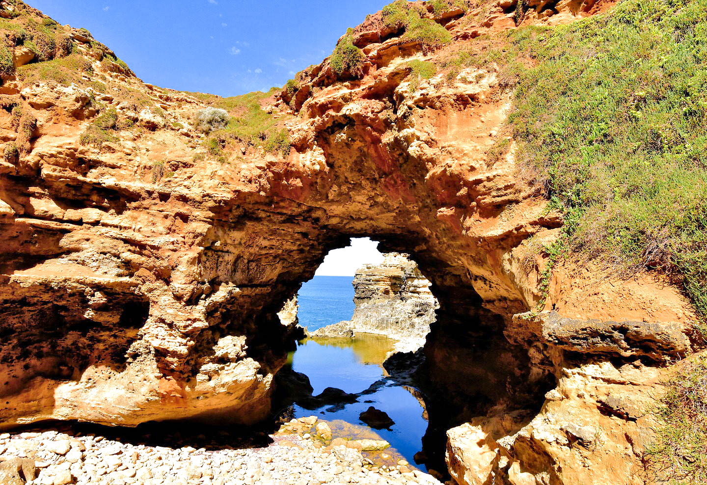 The Grotto Close Up near Peterborough on Great Ocean Road, Australia