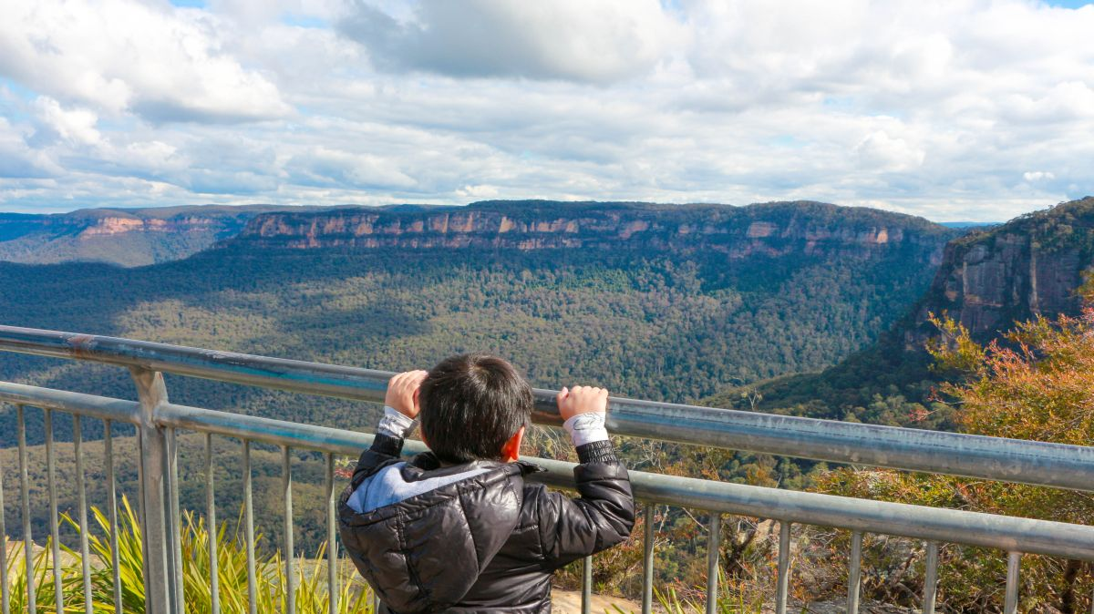 What to wear for kids in Blue Mountains