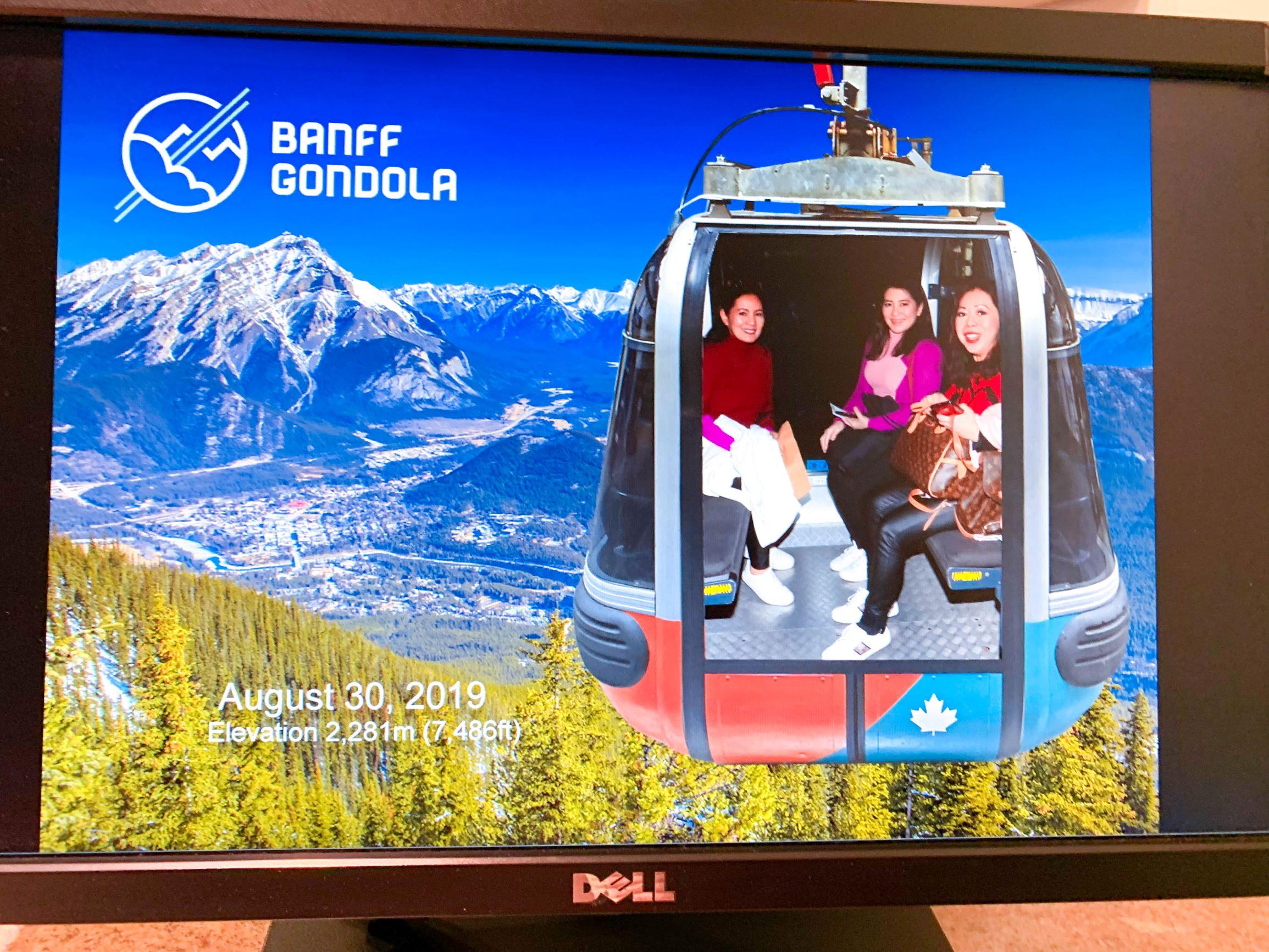 Banff Gondola picture
