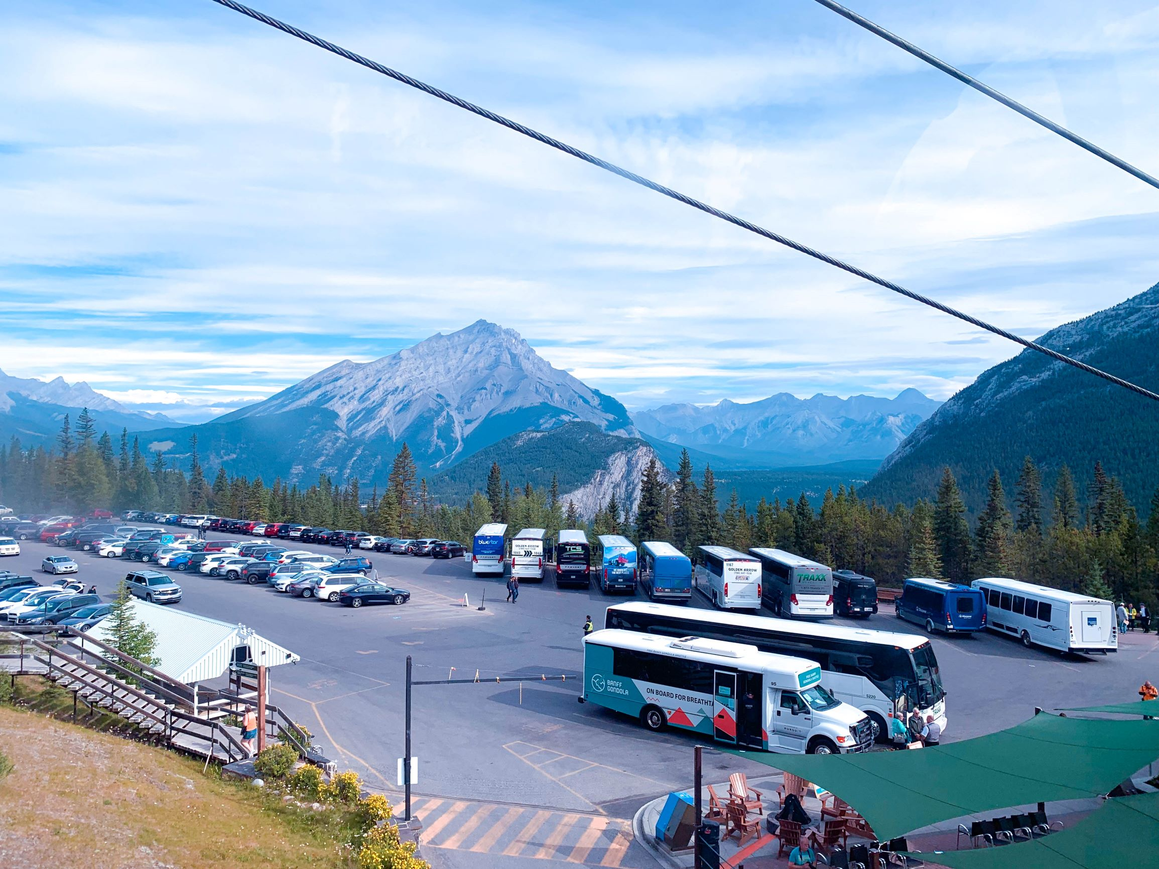 Banff Gondola Parking area review