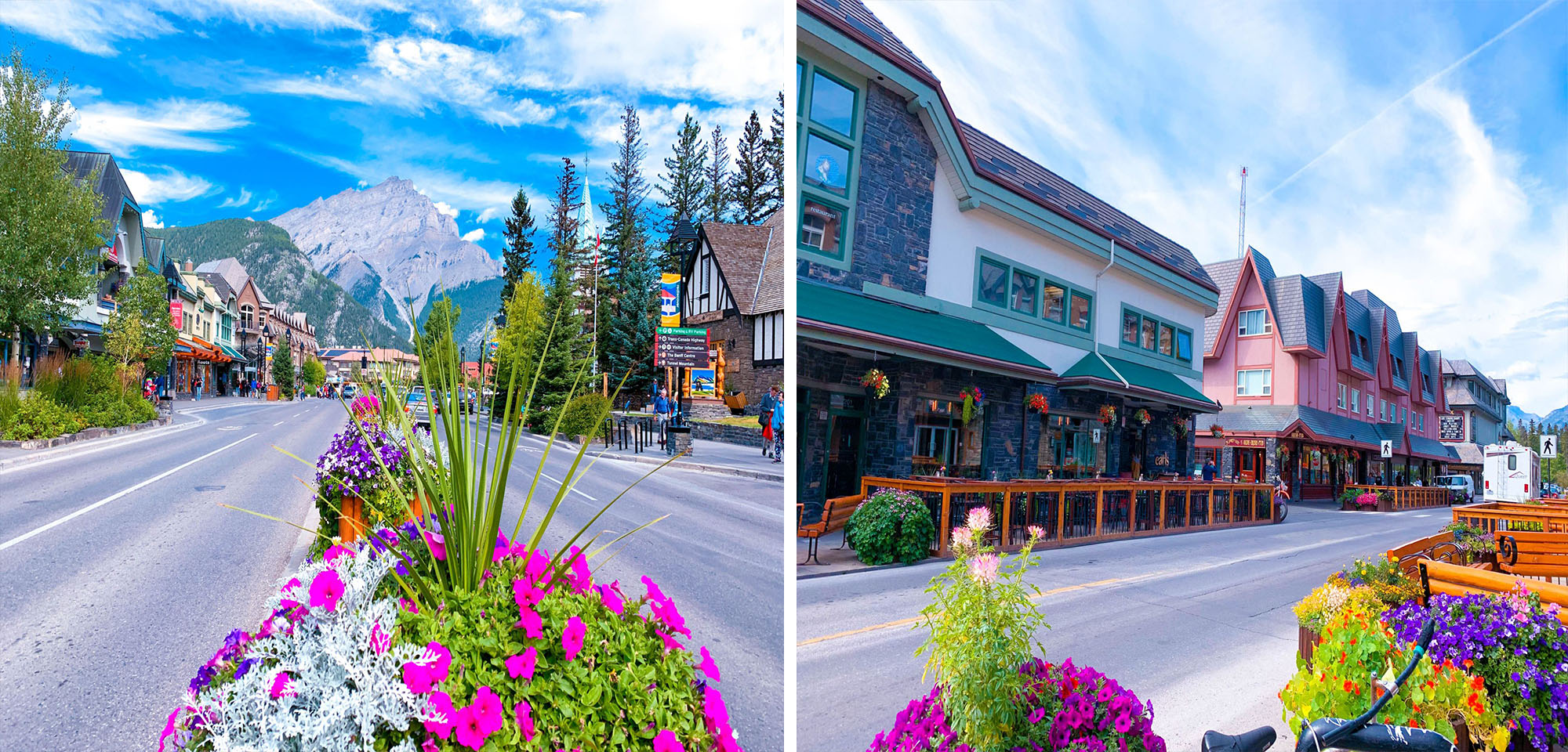 Banff town review