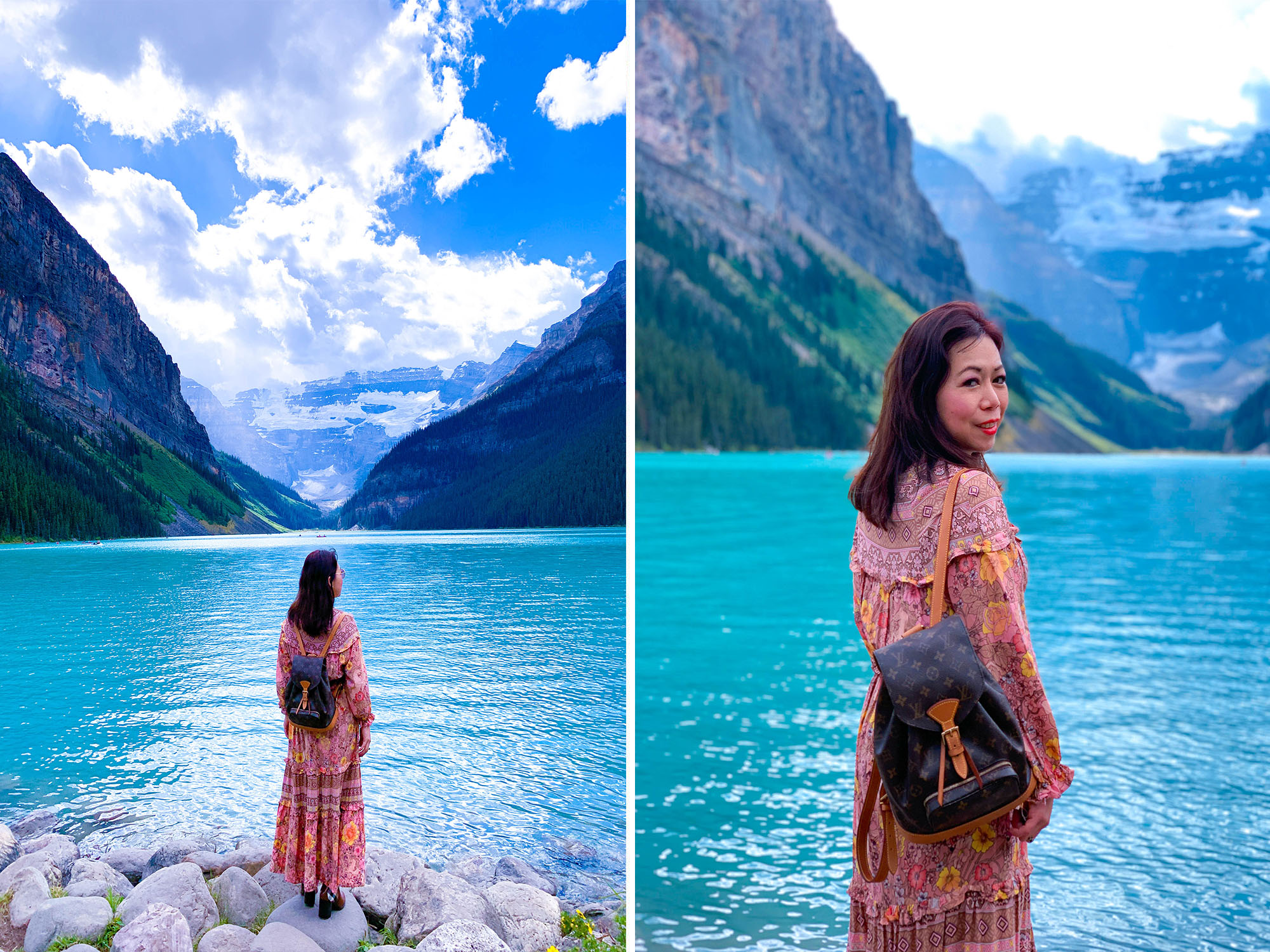 What to wear in Lake Louise