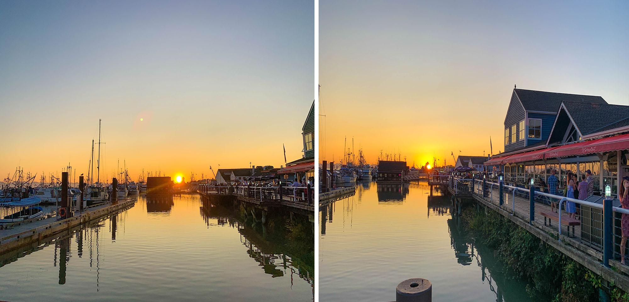 Steveston Fisherman's wharf review