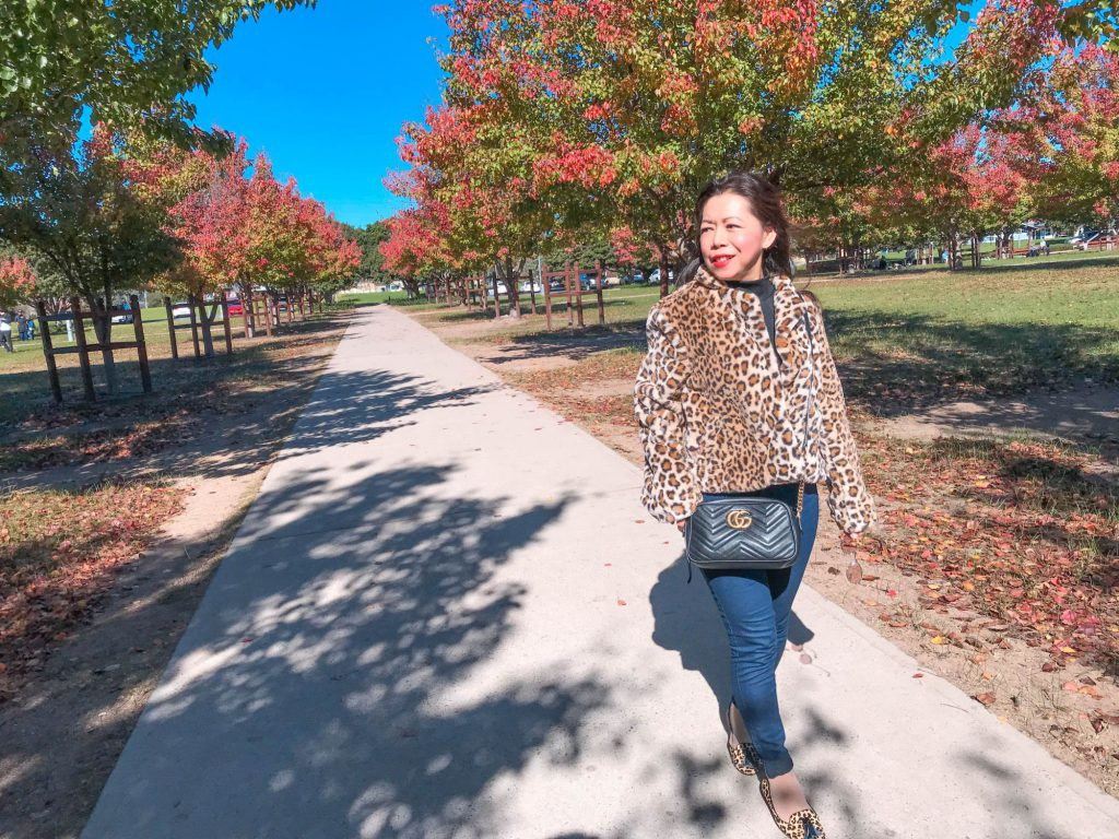 How to style leopard print coat