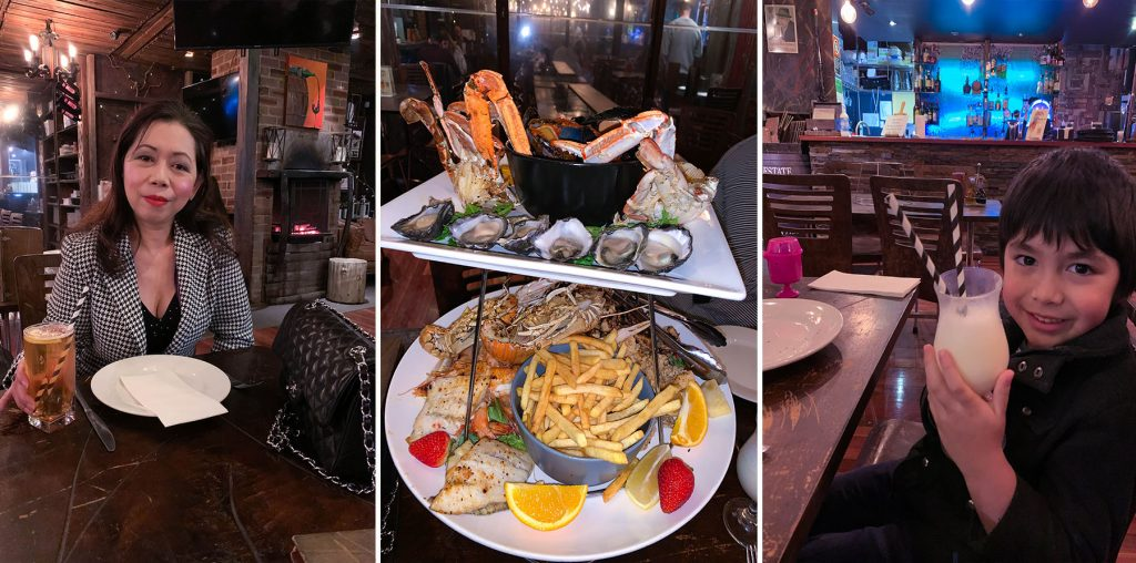 Seafood platter review